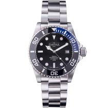 Davosa Swiss Ternos Pro 16155945 Diver Men Wrist Watch Steel...