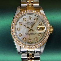 Ρολεξ (Rolex) DateJust 69173 Lady 18k Gold Steel MOP Diamonds