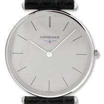 Longines La Grande Classique 18kt White Gold Mens Luxury Strap...