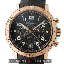 Breguet Pilot Series Type XXI Flyback Chronograph 18k Rose Gold