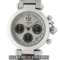 Cartier Pasha Collection Pasha C Chronograph Stainless Steel 35mm