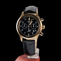 IWC der flieger chronograph yellow gold