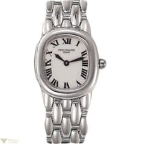 Patek Philippe Ladies Ellipse 18K White Gold Ladies Watch