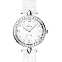Omega Ladies 42418276055001 De Ville Prestige Watch