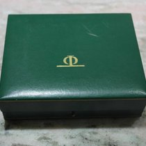 Baume & Mercier vintage leather greeen watch box rare