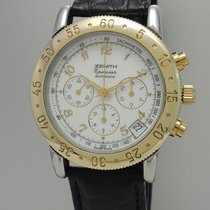 "Zenith El Primero ""Epervier"" Chronograph -Stahl-Gold..."