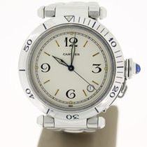 Cartier Pacha Steel Automatic 38mm (BOX2003) WhiteDial