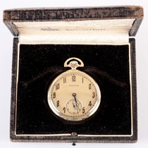 "Hamilton Vintage Gold Pocket Watch ""920"""