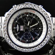 Breitling Mens Breitling Bentley Motors 6.75 MM 50 MM Genuine...