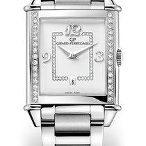 Girard Perregaux VINTAGE 1945 LADY Steel Bracelet Dial Silver...