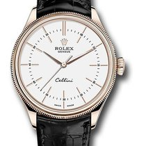 Rolex Unworn 50505 wbk Cellini Time 39mm Automatic in Rose...