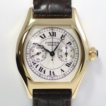 Cartier Tortue Chronograph Monopoussoir Gold