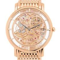 百達翡麗 (Patek Philippe) Complications 18k Rose Gold Transparent...