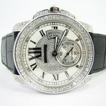 Cartier Calibre de Cartier Automatic White Gold Diamonds
