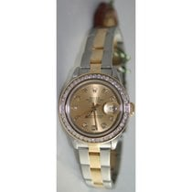 Rolex Datejust 79163 Lady's Steel and 18K Gold Oyster Band...