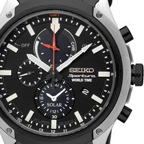 Seiko SSC483P1 Sportura Chronograph Herren 45mm 10ATM