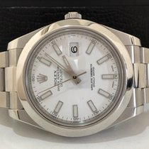 Rolex Datejust Il 41mm White Dial Impecável e Completo