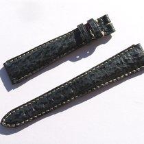 真力时 (Zenith) Shark Band Strap Black 15 Mm 73/98 New Z15-04