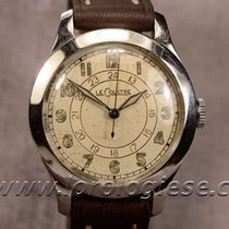 Jaeger-LeCoultre Classic 1940`s Vintage Steel Watch Cal. 450