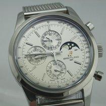 Breitling Transocean Chronograph 1461 Mondphase 4-Jahreskalend...