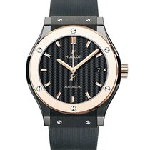 Hublot 511.co.1781.rx Classic Fusion 45mm in Black Ceramic...