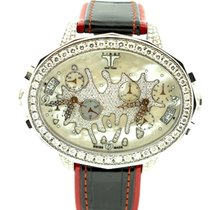 Tiret Second Chance 2 time zone and chrono with diamonds