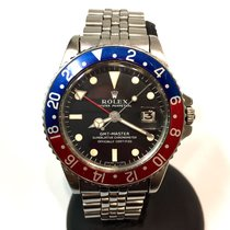 Rolex Oyster Perpetual Gmt-master Long E Steel Mens Watch Ref....