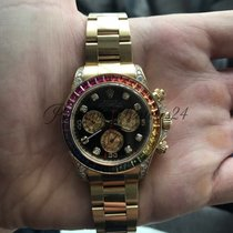 Rolex Daytona Yellow Gold Rainbow 116598RBOW