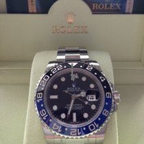 Rolex GMT Master II Edelstahl Ref. 116710 BLNR