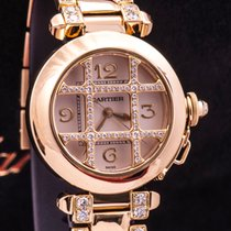 Cartier PASHA 2399 GOLD AND DIAMOND