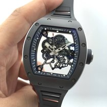 Richard Mille RM55 Bubba Watson All Grey Ltd Ed Ceramic [NEW]