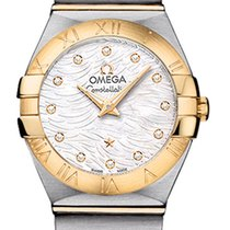 Omega Constellation Brushed 24mm 123.20.24.60.55.008