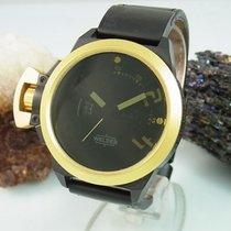 Welder K-24 Xxl Uhr | Black / Gold | Datum Anzeige | Herrenuhr...