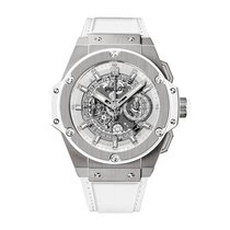 Hublot King Power Unico 48mm Automatic Titanium Mens Watch Ref...