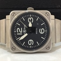Bell & Ross Br03-92-steel 42mm Automatico Completo Impecável