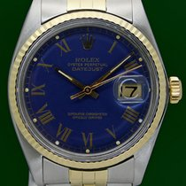 Ρολεξ (Rolex) Datejust 16013 Gold Dial 36mm 18K Gold Steel...