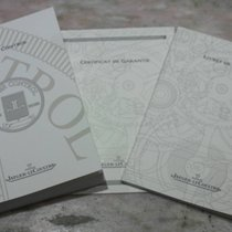 Jaeger-LeCoultre complete kit booklet papers and warranty  for...
