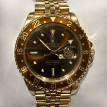 Rolex Vintage 18ct gold GMT-Master