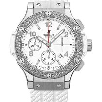 Hublot 342.SE.230.RW.114 Big Bang 41mm in Steel with Diamond...