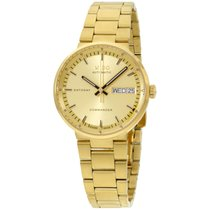 Mido M0142303302100 Watch Commander Lady  Gold Dial