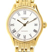 Longines Lyre Gold-plated Stainless Steel White Automatic...