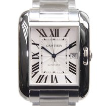 Cartier Tank Stainless Steel Silvery White Automatic W5310008