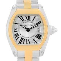 Cartier Roadster Steel Yellow Gold Small Womens Watch W62026y4