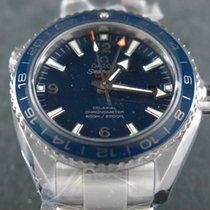 Omega Seamaster Planet Ocean 600M GMT Titanium Blue