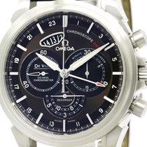 Omega De Ville Chronoscope Co-axial Gmt Watch 422.13.44.52.13....