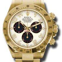 Rolex Daytona Yellow Gold Ivory Dial 116528