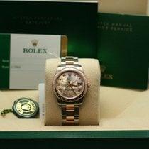 Rolex 31mm  Mother of Pearl diamond Roman VI dial