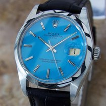 Rolex 1500 Oyster Perpetual 1960 Date Automatic Stainless Mens...