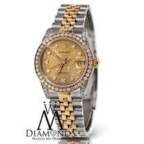 Rolex Ladies Rolex Datejust 26mm Two Tone 18k Gold/steel...