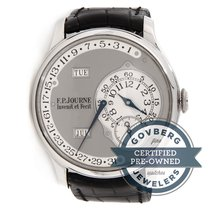 F.P.Journe Octa Calendrier Platinum Auto 38mm Grey Dial Mens...